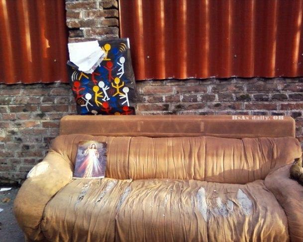 jesus sofa
