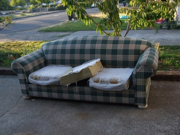 sofa rag